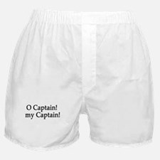 O Captain! my Captain! Boxer Shorts
