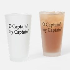 O Captain! my Captain! Drinking Glass