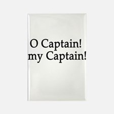 O Captain! my Captain! Rectangle Magnet