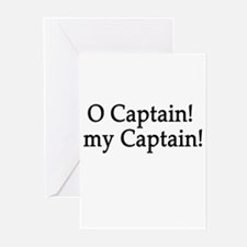 O Captain! my Captain! Greeting Cards (Pk of 10)