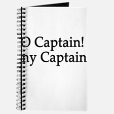 O Captain! my Captain! Journal