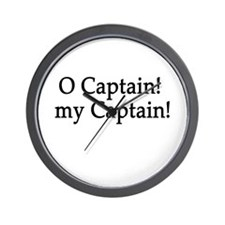 O Captain! my Captain! Wall Clock