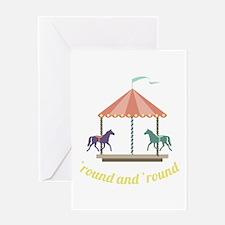 Round & Round Greeting Cards