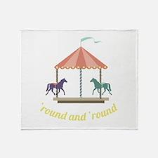 Round & Round Throw Blanket