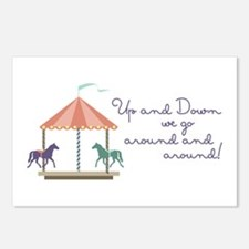 Up and Down Postcards (Package of 8)
