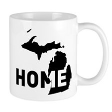 Home is where Michigan is Mugs