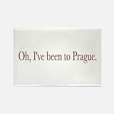 I've Been to Prague Rectangle Magnet
