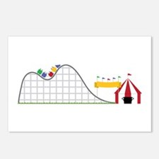 Amusement Park Roller Postcards (Package of 8)