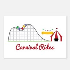 Carnival Ride Postcards (Package of 8)