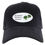 Christmas Broccoli Baseball Hat