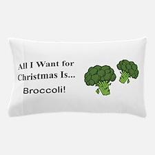Christmas Broccoli Pillow Case