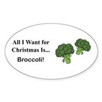 Christmas Broccoli Sticker