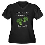 Christmas Broccoli Plus Size T-Shirt