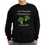 Christmas Broccoli Sweatshirt
