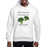Christmas Broccoli Hoodie