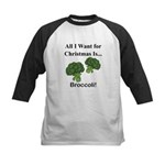 Christmas Broccoli Baseball Jersey