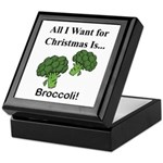 Christmas Broccoli Keepsake Box