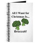 Christmas Broccoli Journal