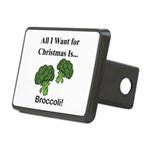 Christmas Broccoli Hitch Cover