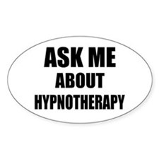 Ask me about Hypnotherapy Decal