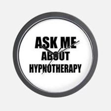 Ask me about Hypnotherapy Wall Clock
