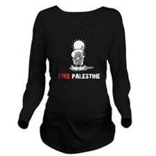 free palestine Long Sleeve Maternity T-Shirt