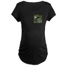 Sisters-LotusFlower... Maternity T-Shirt