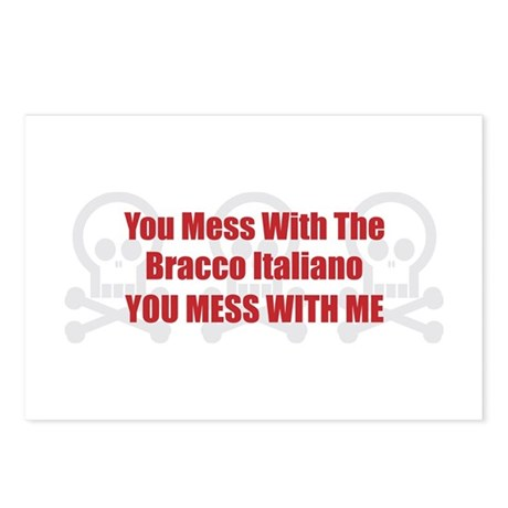 Mess With Bracco Postcards (Package of 8)