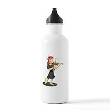 Cute Violin kids Water Bottle