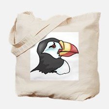 Unique Puffin Tote Bag