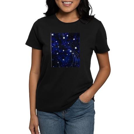 Fall Into The Cosmos Women's Dark T-Shirt