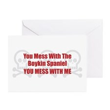 Mess With Boykin Greeting Cards (Pk of 10)