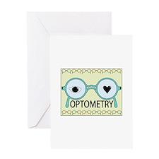 I Love Optometry Greeting Cards