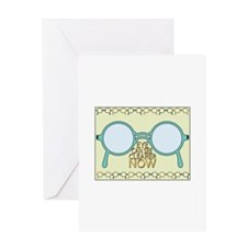 See Clearer Now Greeting Cards