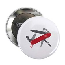 "Swiss Army Knife 2.25"" Button"