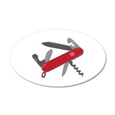 Swiss Army Knife Wall Decal
