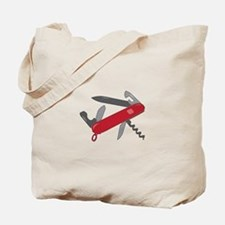 Swiss Army Knife Tote Bag
