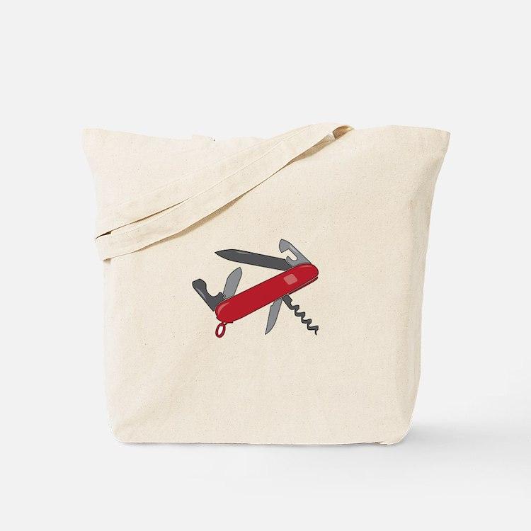 Swiss Army Knife Tote Bag