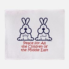 Peace for all the children of the Middle East Thro