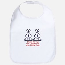 Peace for all the children of the Middle East Bib