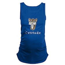 Catitude Maternity Tank Top