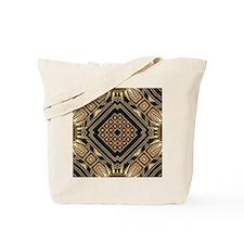 Art Deco Black Gold 1 Tote Bag