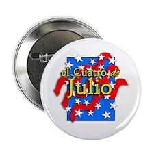 El Cuatro de Julio Button