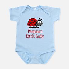 Peepaw's Little Lady Body Suit