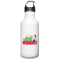 Snoopy: Be Merry Water Bottle