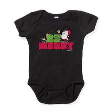 Snoopy: Be Merry Baby Bodysuit