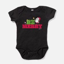 Snoopy: Be Merry Baby Bodysuit