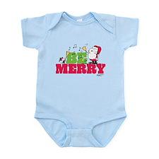 Snoopy: Be Merry Infant Bodysuit