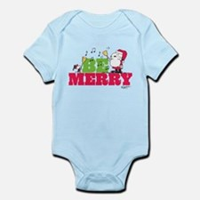 Snoopy: Be Merry Infant Bodysuit