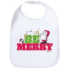 Snoopy: Be Merry Bib